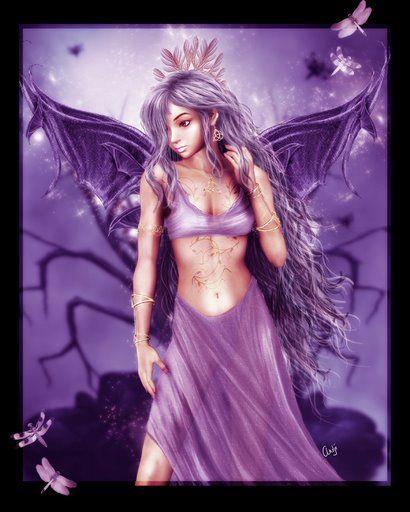 dans fond ecran ange violet 4b3qgp66