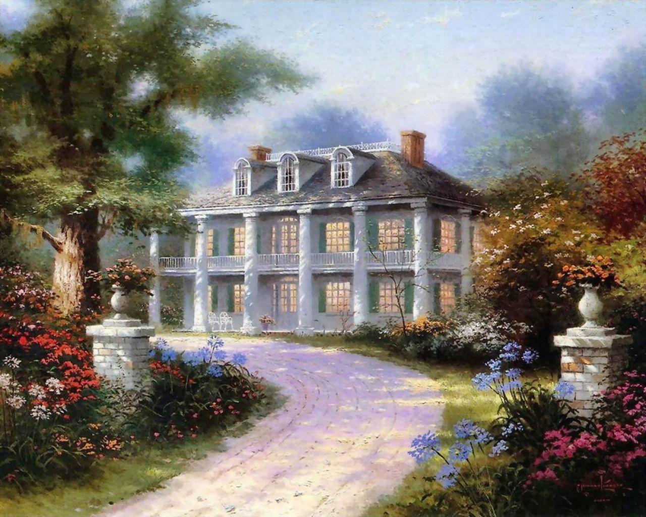 Peinture D Une Maison